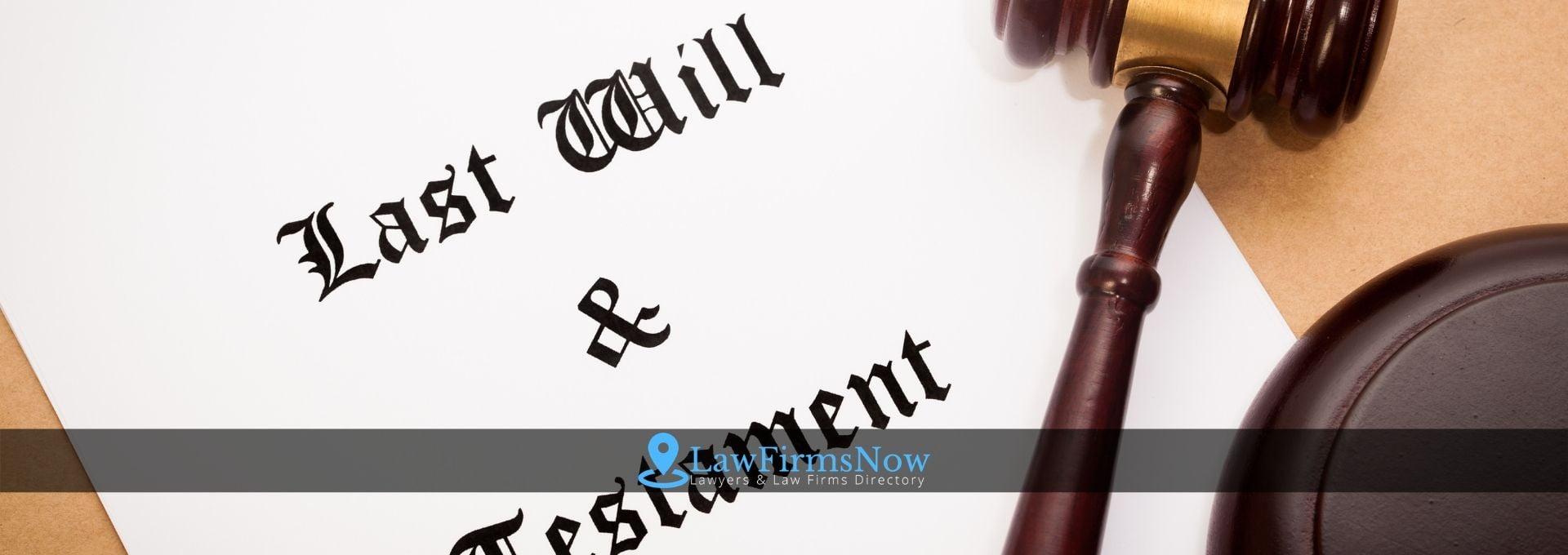 Last wills and statement